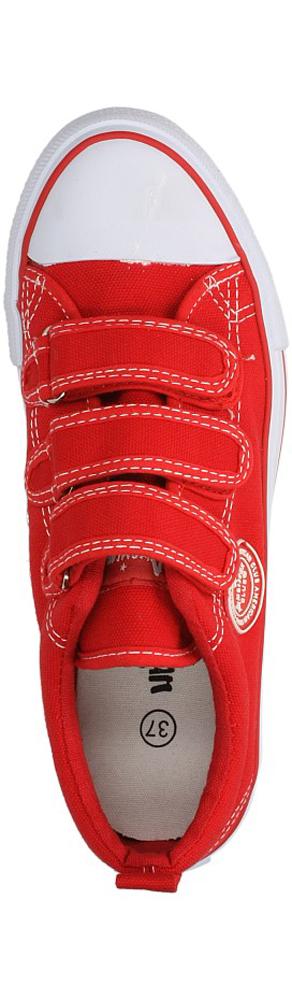 Damskie TRAMPKI AMERICAN LH-DSTC01-6 czerwony;biały;