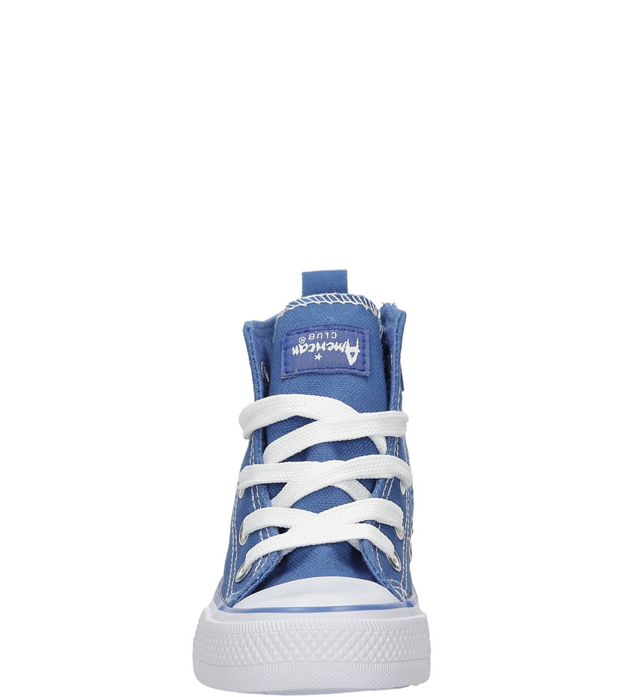 Dziecięce TRAMPKI AMERICAN LH-9120-2 niebieski;biały;