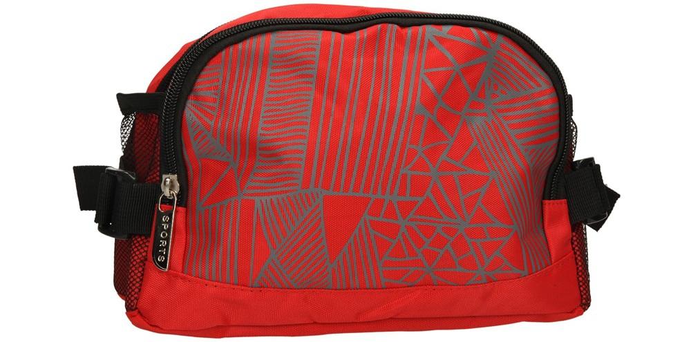 Damskie SASZETKA 10R06-14 czerwony;szary;