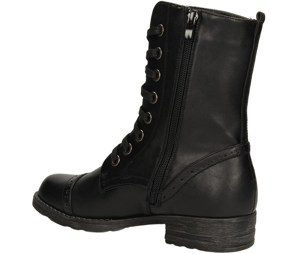 BOTKI VINCEZA R13-D-GN-04 kolor czarny