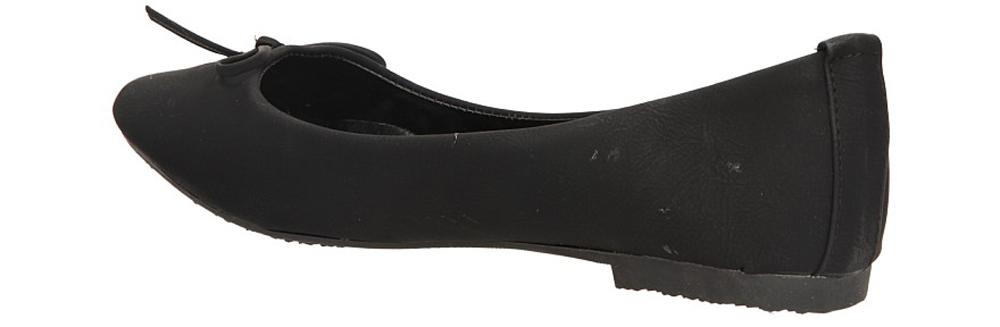 BALERINY CASU DJ0206 kolor czarny