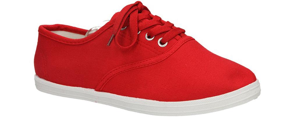 Damskie TENISÓWKI CASU B006 czerwony;;
