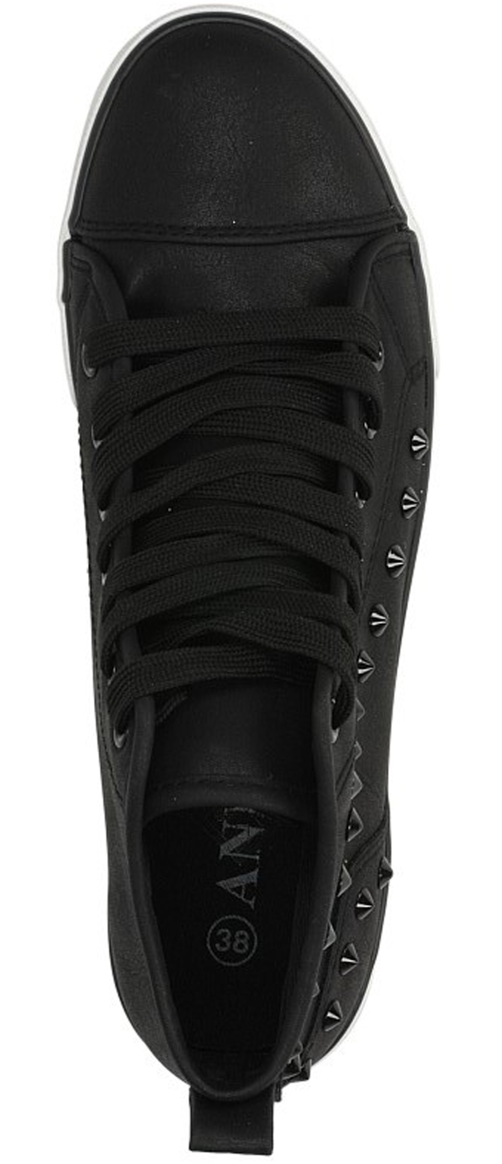 TRAMPKI CASU QS-4 kolor czarny