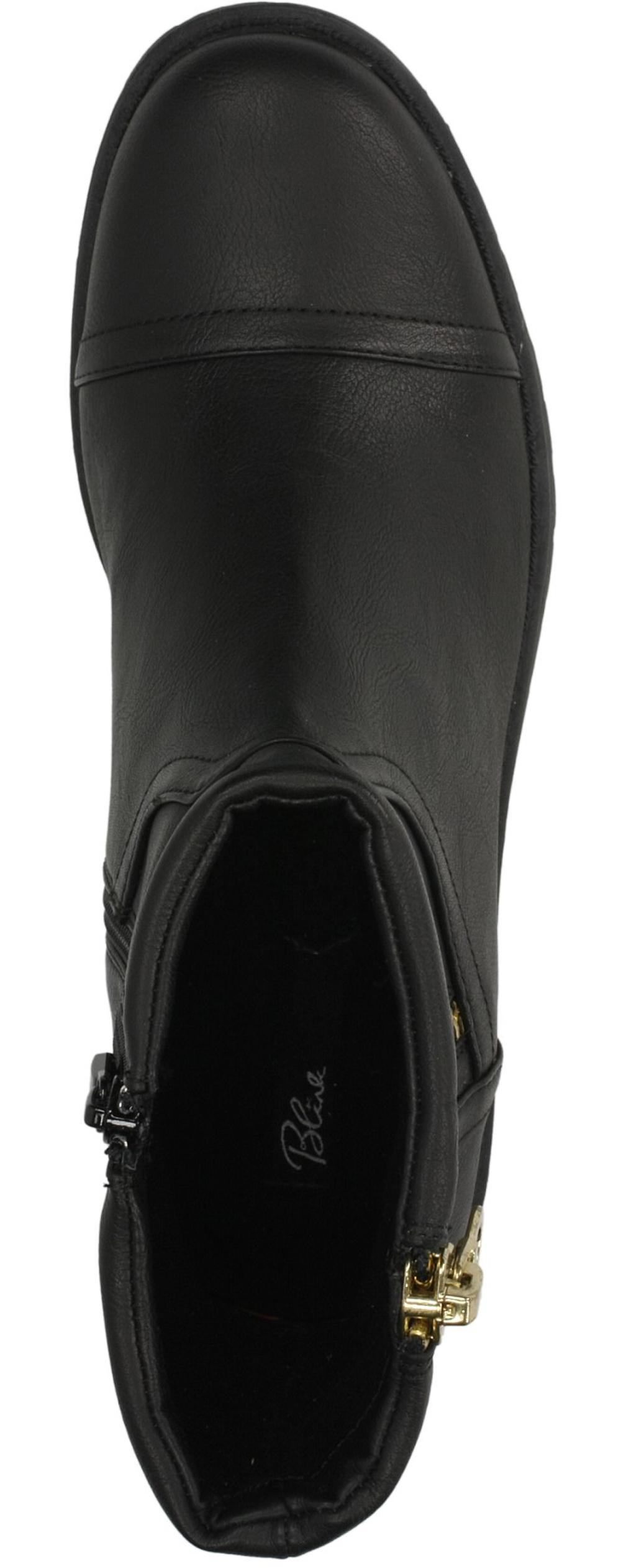 Damskie BOTKI BLINK 400639-C-21 czarny;;