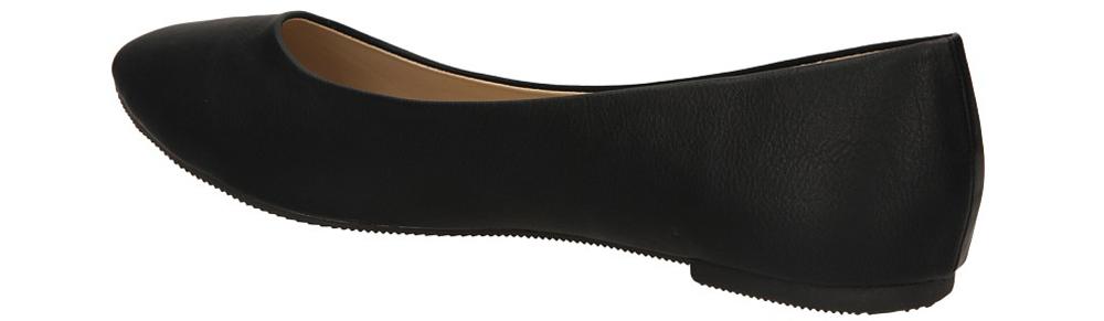 BALERINY CASU C-1257-D kolor czarny
