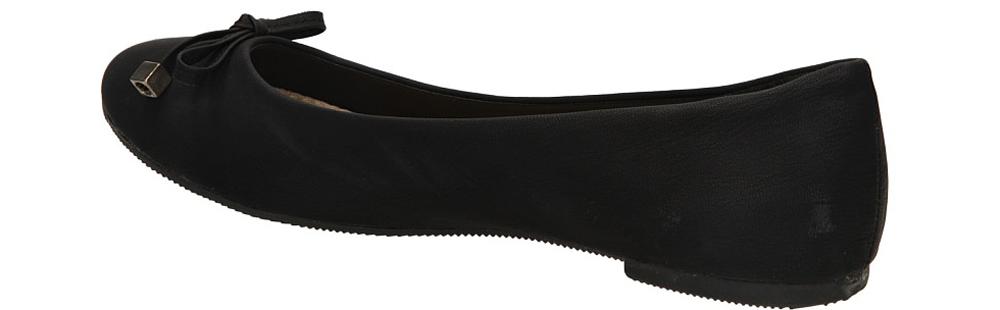 BALERINY CASU C-1109-B kolor czarny