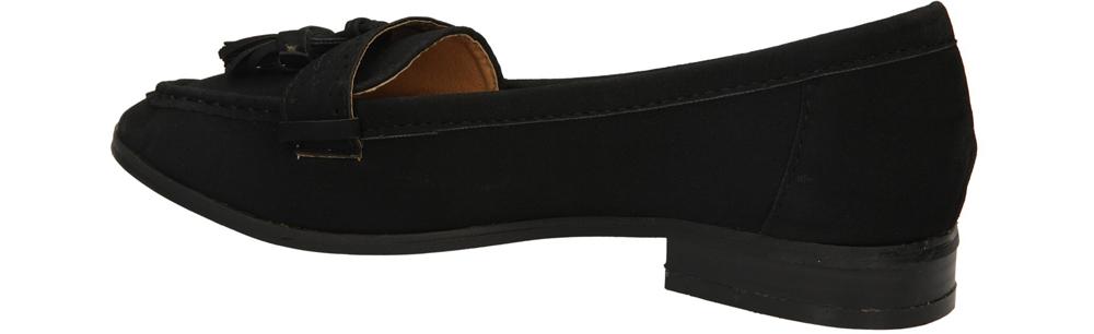 MOKASYNY CASU 88-397 kolor czarny