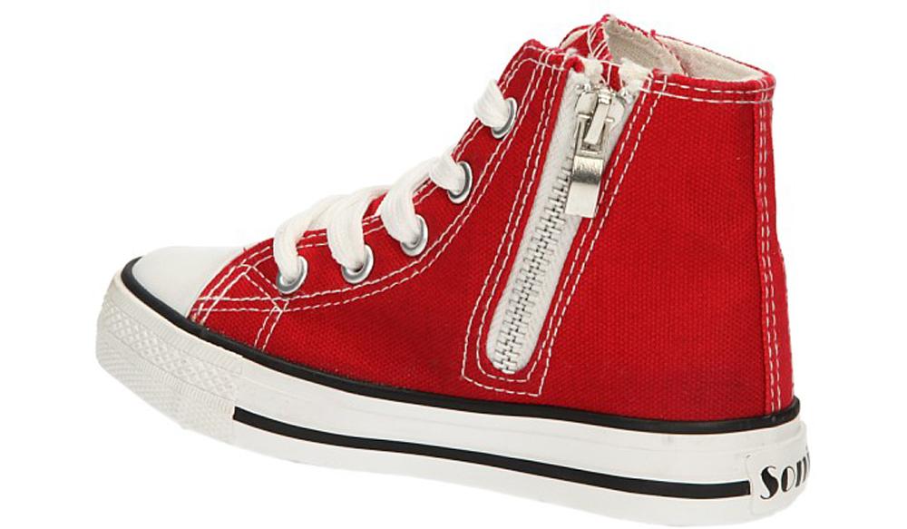 TRAMPKI 81202 kolor czerwony
