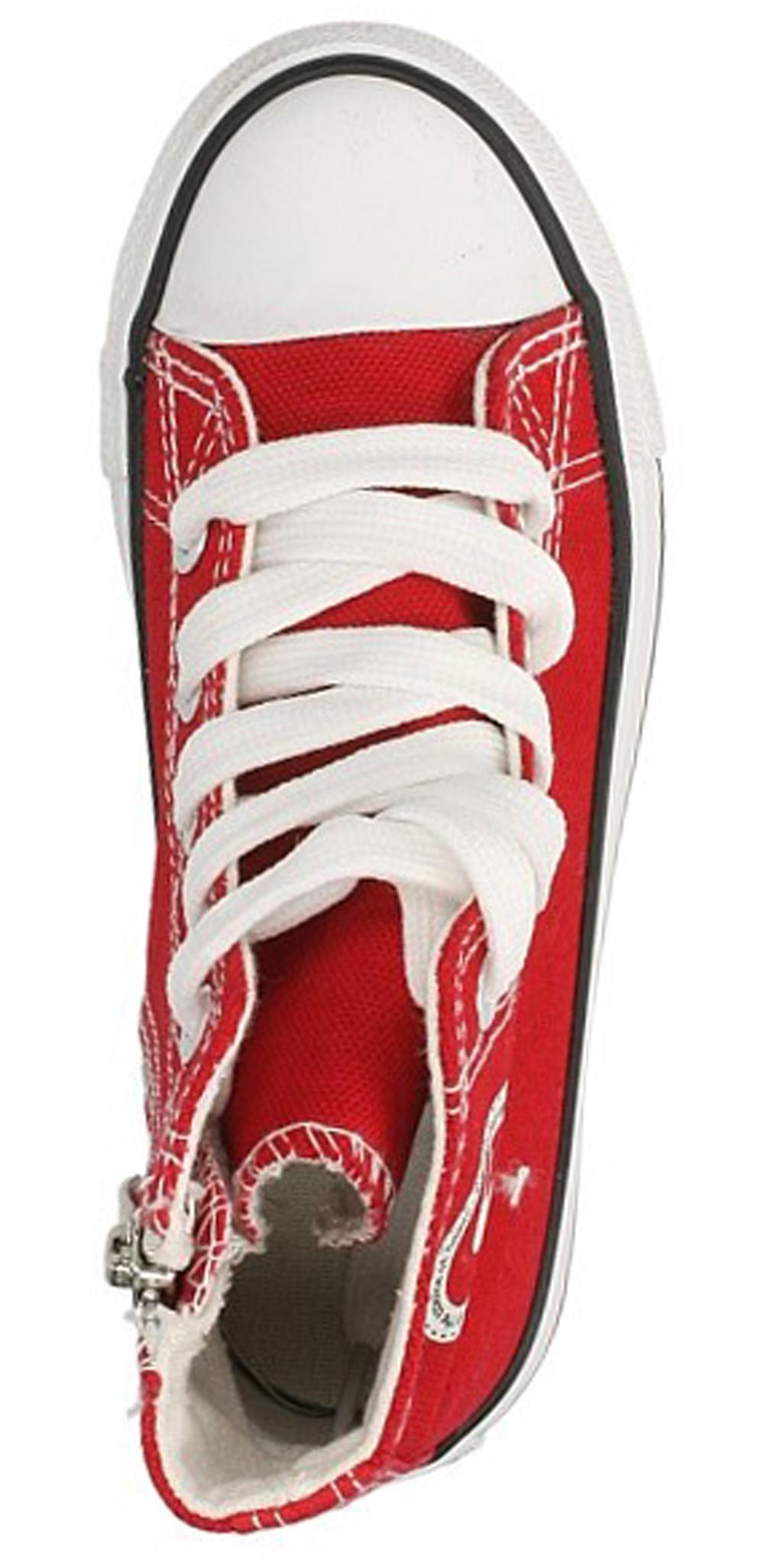 Dziecięce TRAMPKI 81202 czerwony;;