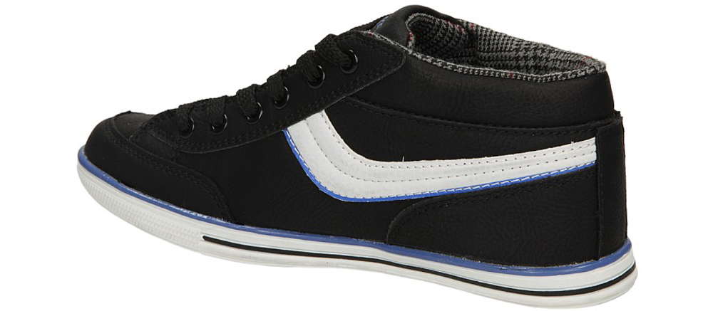 Dziecięce SPORTOWE 5XC6173 czarny;niebieski;