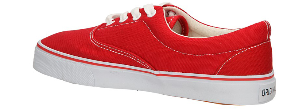 Damskie TRAMPKI CASU 7V-JM82999 czerwony;biały;