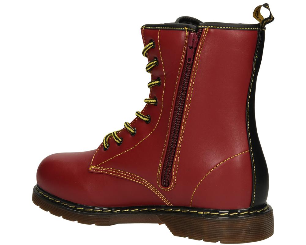 TRZEWIKI 5XC6433-W kolor czerwony