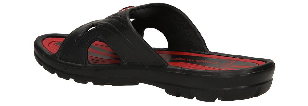 KLAPKI CASU YL968A kolor czarny, czerwony