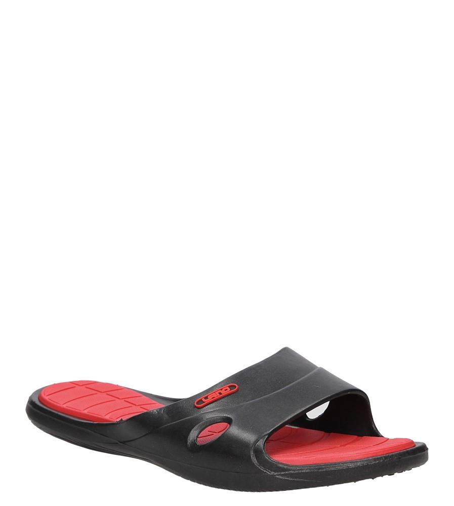 Damskie KLAPKI CASU 3060 czarny;czerwony;