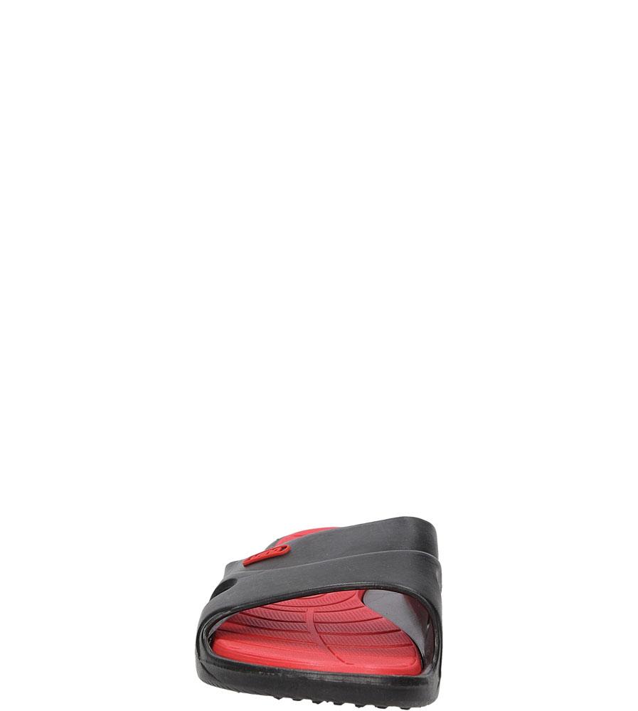 KLAPKI CASU 3060 kolor czarny, czerwony