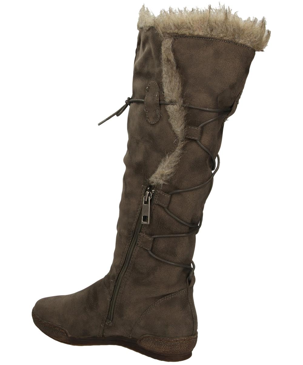 ŚNIEGOWCE S.BARSKI SB1033 style Z kożuszkiem