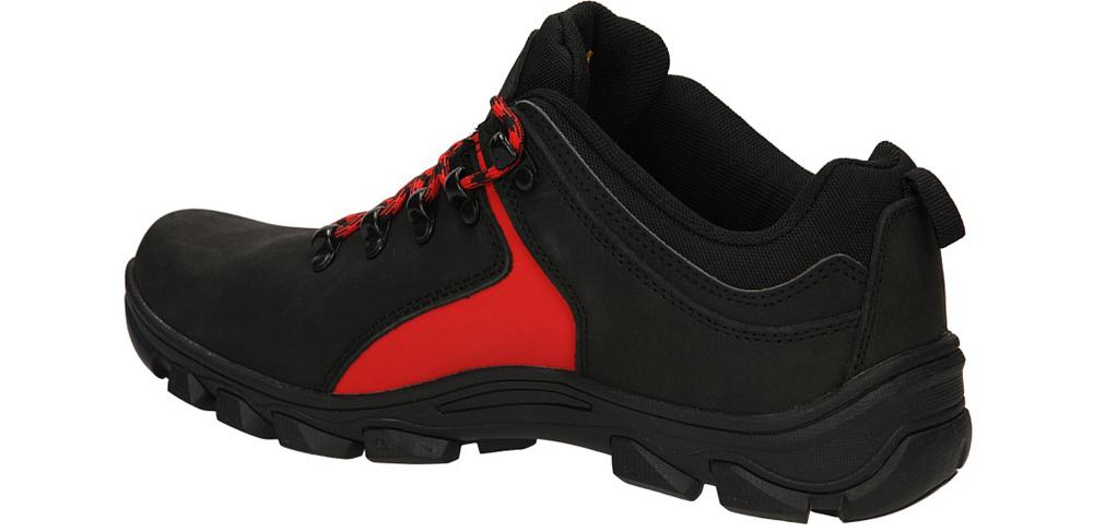 TREKKINGOWE MCKEY R13-M-TR-24 kolor czarny, czerwony