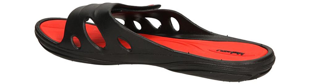 KLAPKI MCKEY 32-022-D-BK kolor czarny, czerwony