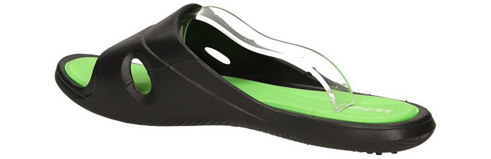 KLAPKI MCKEY 32-023-D-BK kolor czarny, zielony