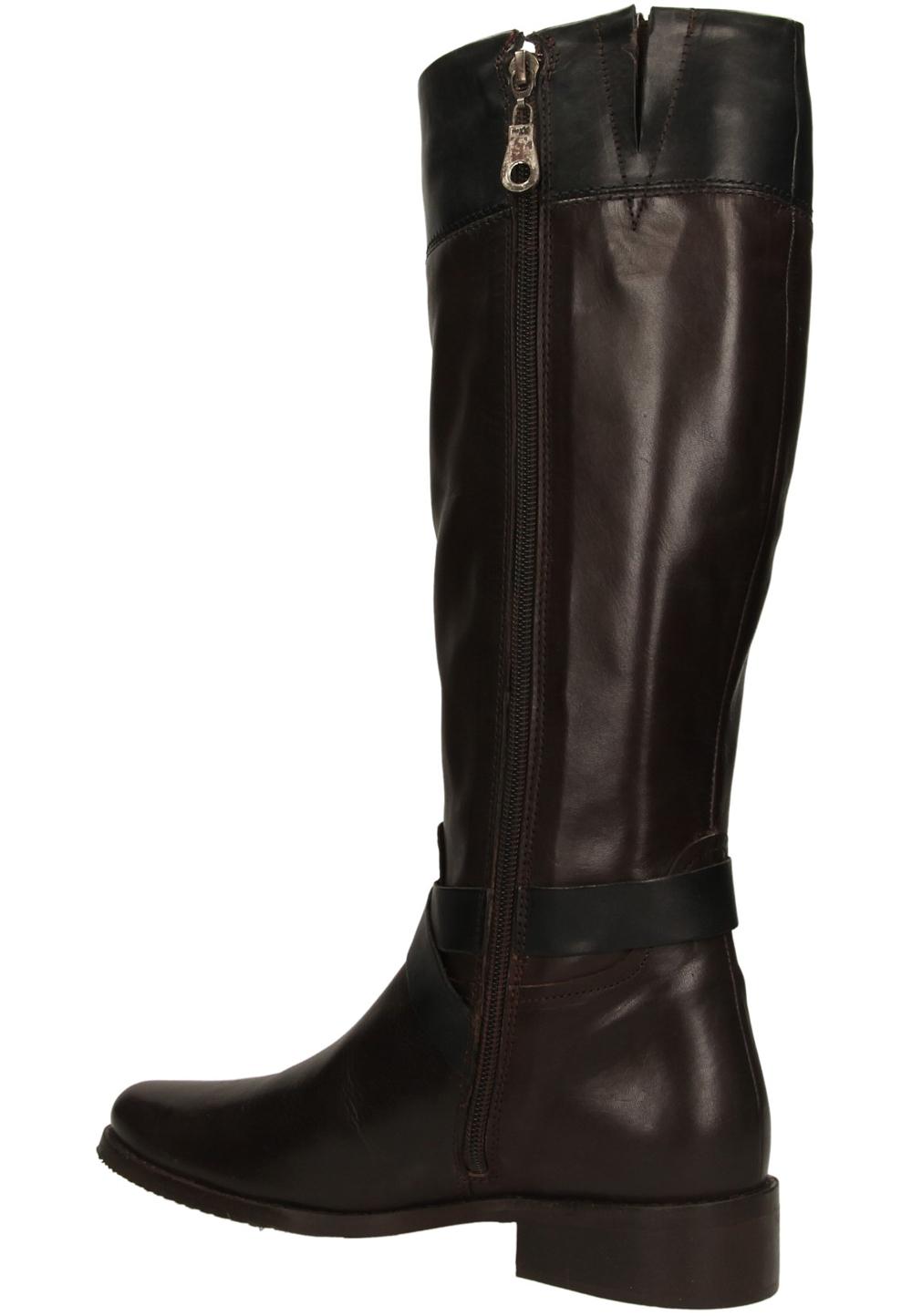 KOZAKI MEXX 10000253 kolor ciemny brązowy, czarny