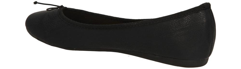 BALERINY CASU 8271 kolor czarny