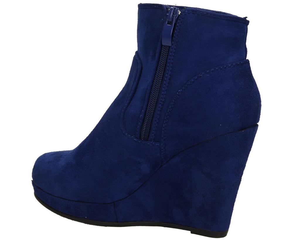 BOTKI CASU 8181-1 kolor niebieski
