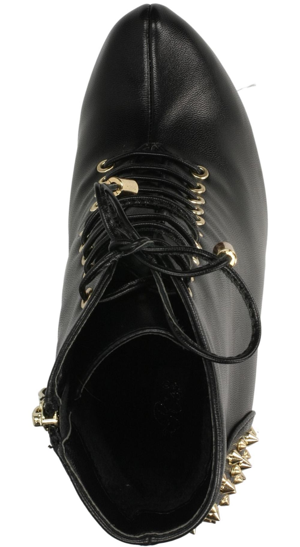 BOTKI CASU 983-GA kolor czarny