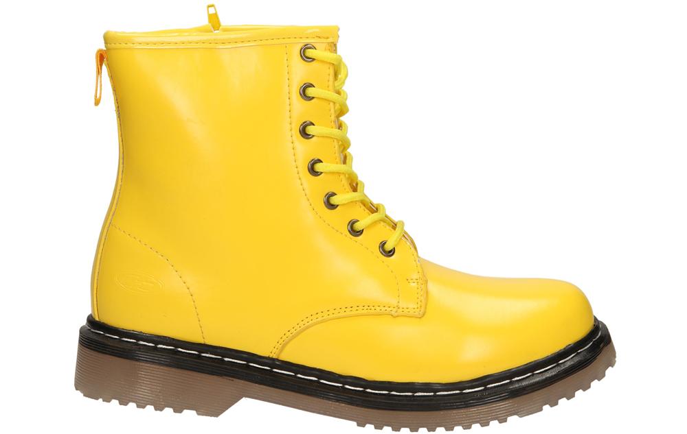 Damskie TRZEWIKI 1469B żółty;;