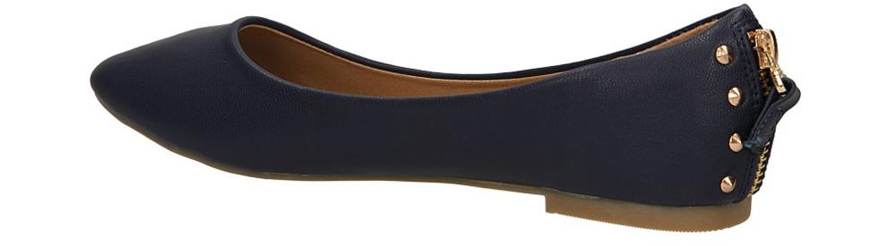 BALERINY CASU Y54 kolor niebieski