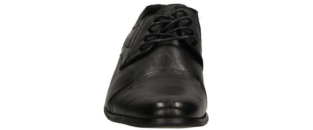 Męskie WIZYTOWE CASU D1112-1 czarny;;