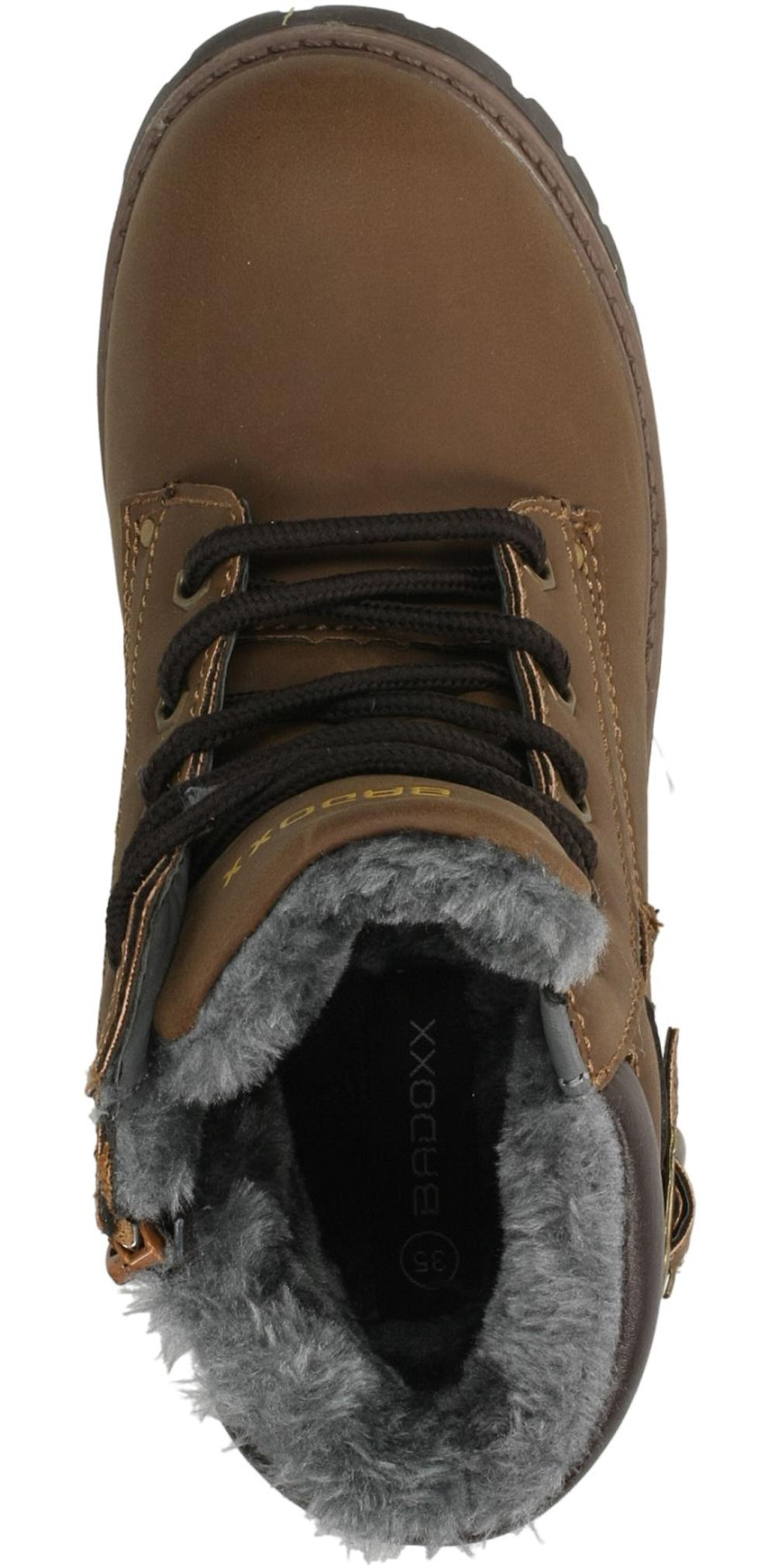 TRZEWIKI 3XC6437-W kolor brązowy