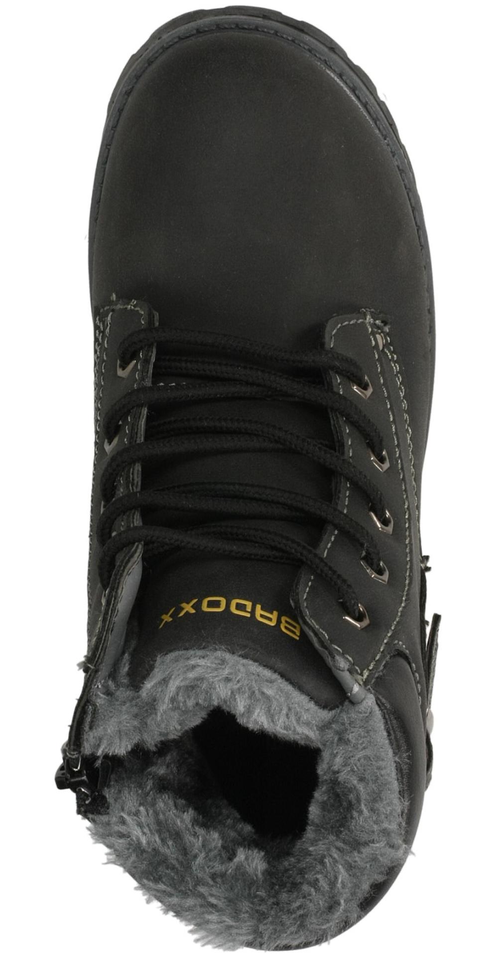 TRZEWIKI 3XC6437-W kolor czarny