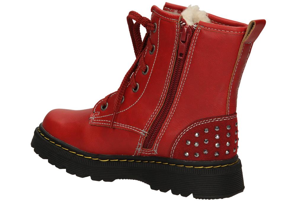 TRZEWIKI AMERICAN B-C11628 kolor ciemny czerwony