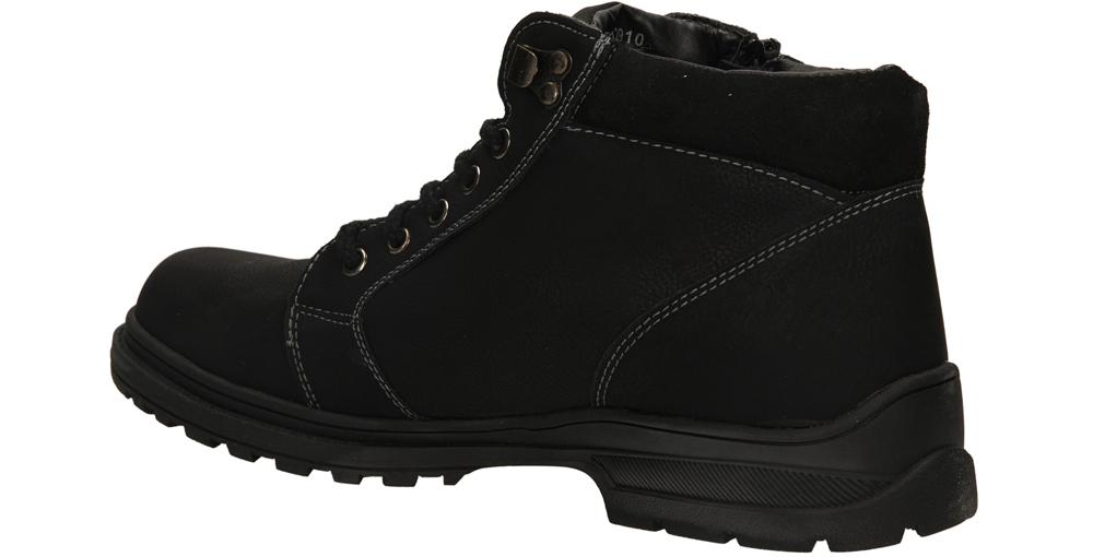 TRZEWIKI CASU 9W-QL82910 kolor czarny