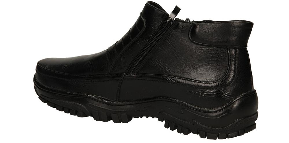 TRZEWIKI CASU 3656-1 kolor czarny