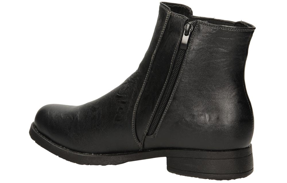 TRZEWIKI CASU H12617 kolor czarny