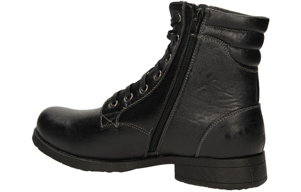 TRZEWIKI CASU H12615 kolor czarny