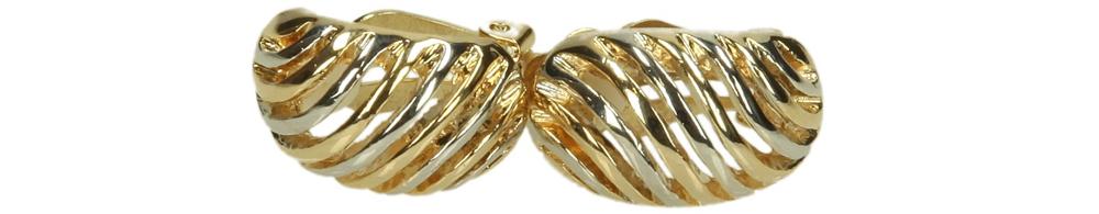 Damskie KLIPSY 225312 złoty;srebrny;