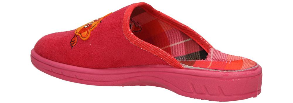 OBUWIE DOMOWE BEFADO 707X320 kolor różowy