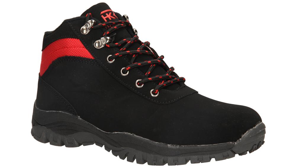 Damskie TREKKINGOWE CASU 7WCH-829 czarny;czerwony;