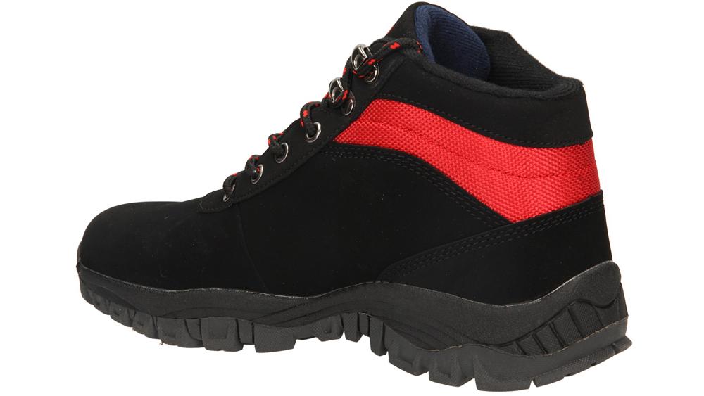 TREKKINGOWE CASU 9WCH-829 kolor czarny, czerwony