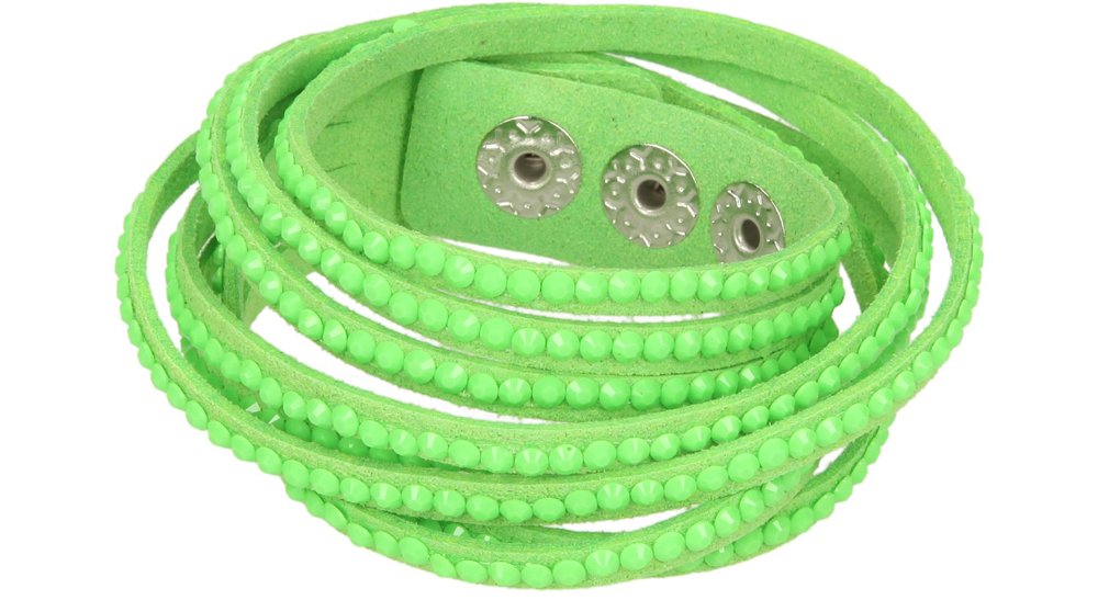 Damskie BRANSOLETA 8Y13-60 zielony;;