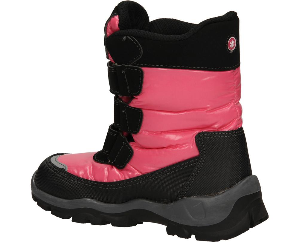 Dziecięce TRZEWIKI AMERICAN TX-8-A czarny;różowy;