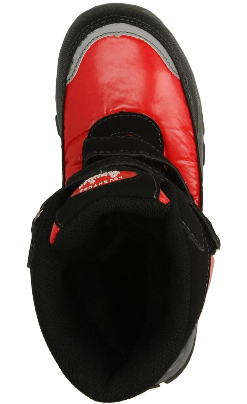 Dziecięce TRZEWIKI AMERICAN TX-8-A czarny;czerwony;