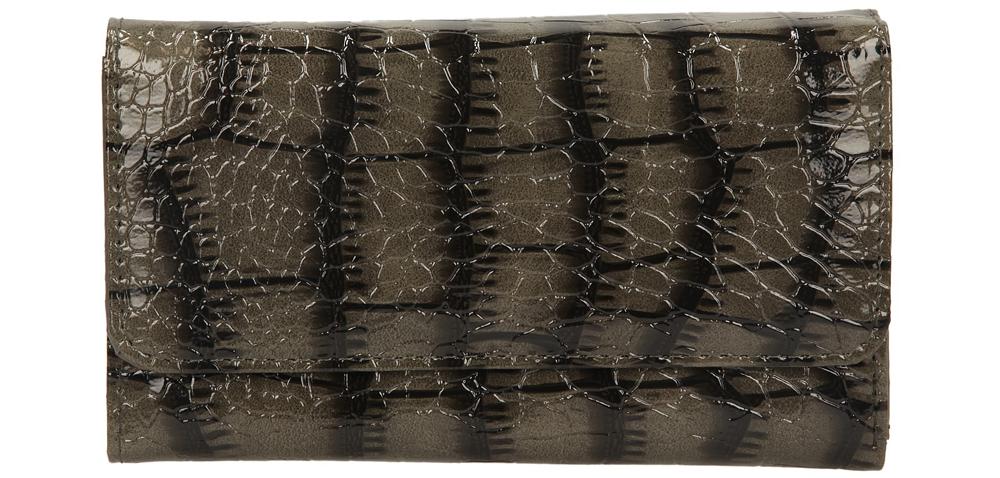 Damskie PORTFEL 1430-A-843 szary;czarny;