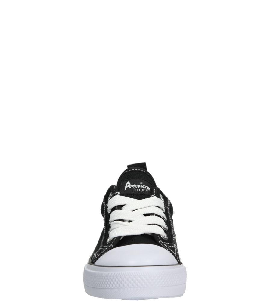 Dziecięce TRAMPKI AMERICAN LH-15-DSLN01-1 czarny;biały;