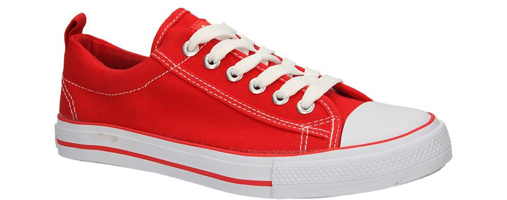 Dziecięce TRAMPKI AMERICAN LH-15-DSLN01-2 czerwony;biały;