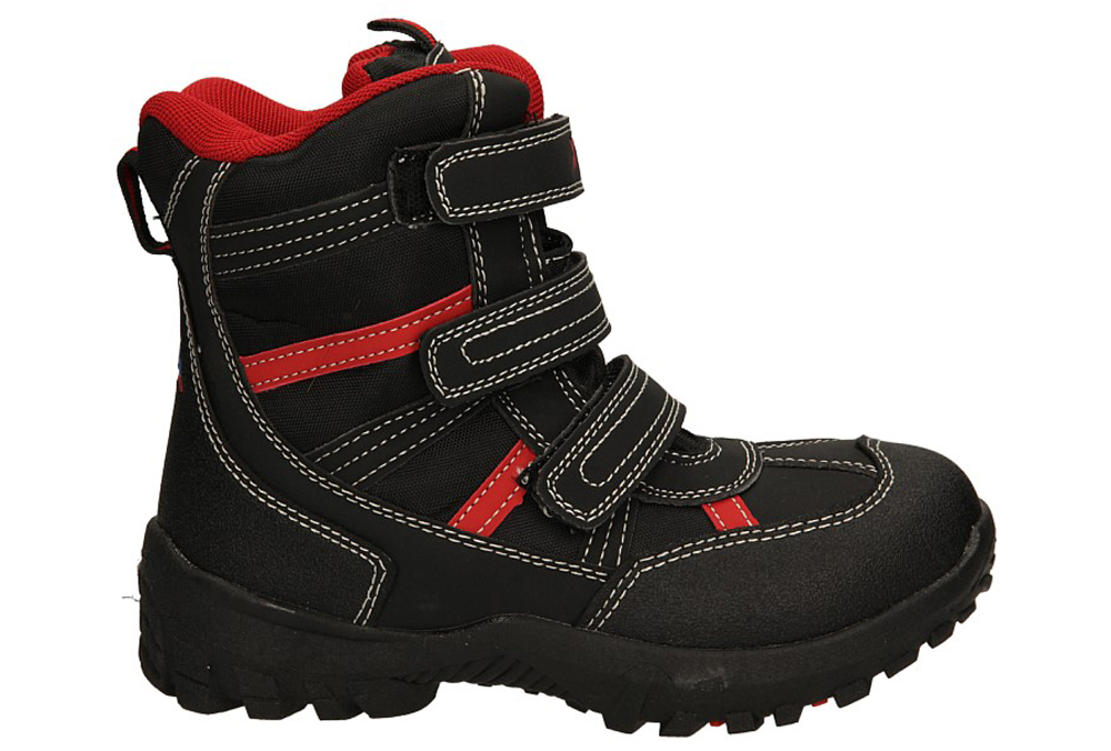 Dziecięce TRZEWIKI 88278 czarny;czerwony;