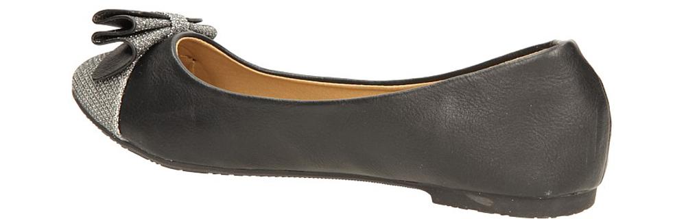 BALERINY CASU A903 kolor czarny