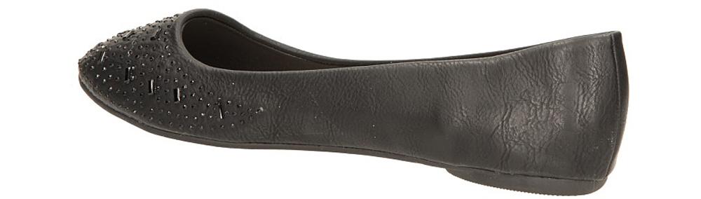 BALERINY CASU 20-216 kolor czarny